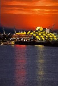 KDL - Theater Im Hafen Sonnenuntergang (hoch)