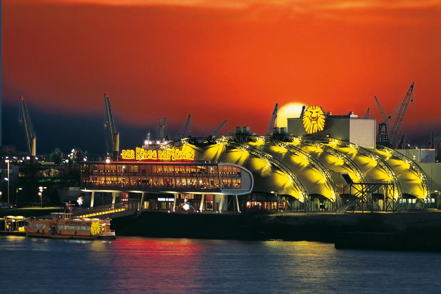Das Stage Theater im Hamburger Hafen